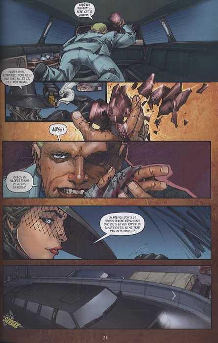 Madame Mirage T1 : Ecran de fumée (0), comics chez Delcourt de Dini, Rocafort