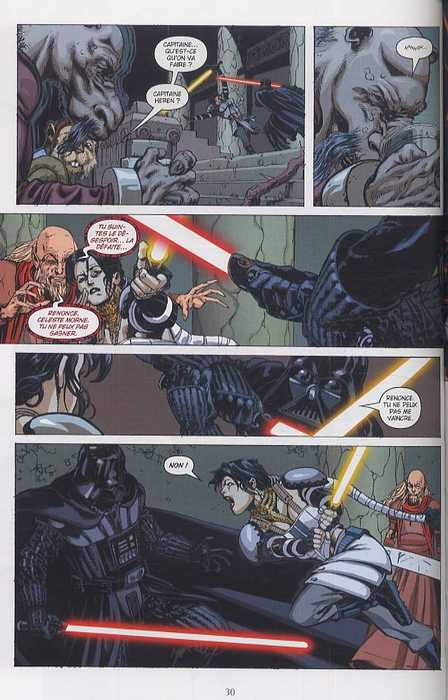 Star Wars (revue) – Vector, T2, comics chez Delcourt de Harrison, Williams, Wheatley, Ross, Weaver, Glass, McCaig