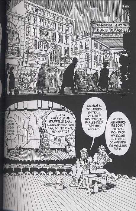 Au coeur de la tempête, comics chez Delcourt de Eisner