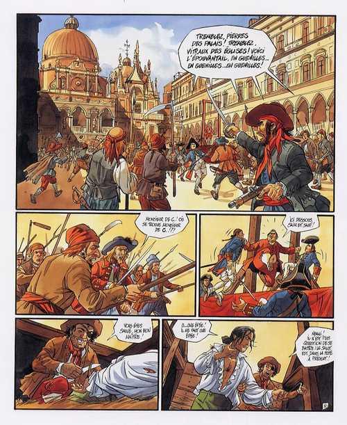 Giacomo C. T15 : La Chanson des Guenilles (0), bd chez Glénat de Dufaux, Griffo