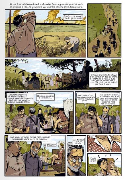 Tranquille courage T1, bd chez Bamboo de Merle, Tefenkgi