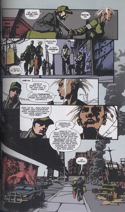 DMZ – Edition Hardcover, T5 : La guerre cachée (0), comics chez Urban Comics de Wood, Zezelj, Burchielli, Fox, Cox