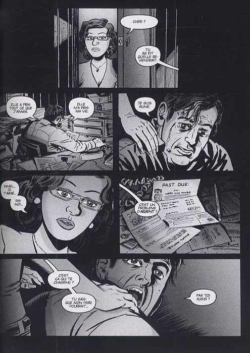 Silverfish, comics chez Panini Comics de Lapham