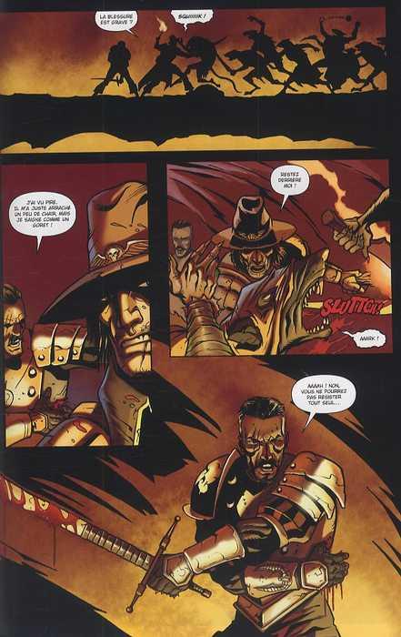 Warhammer T4 : Les mutants de la terre maudite (0), comics chez Soleil de Edginton, Abnett, Hardin, Ekedal, Williams