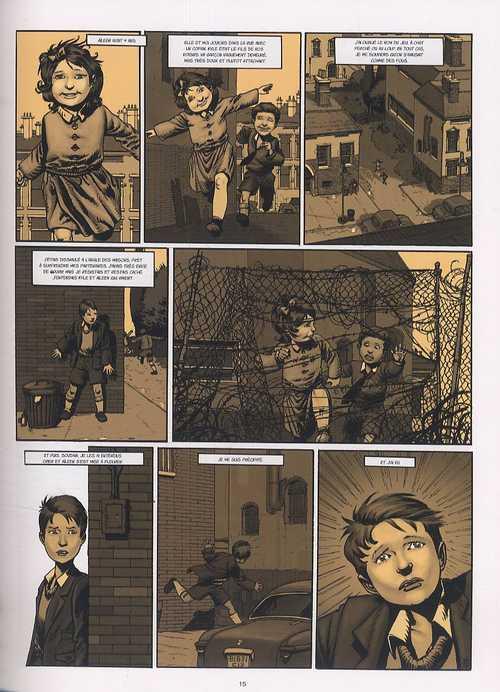 Une balle dans la tête T1 : Angus (0), bd chez Emmanuel Proust Editions de Corbeyran, Jef, Bournay