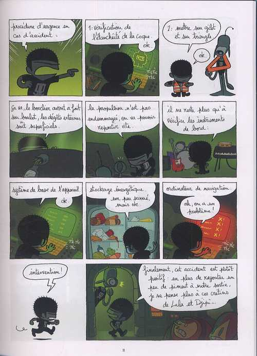 Ange le terrible T2 : Destination inconnue (0), bd chez Glénat de Poipoi, Rouger