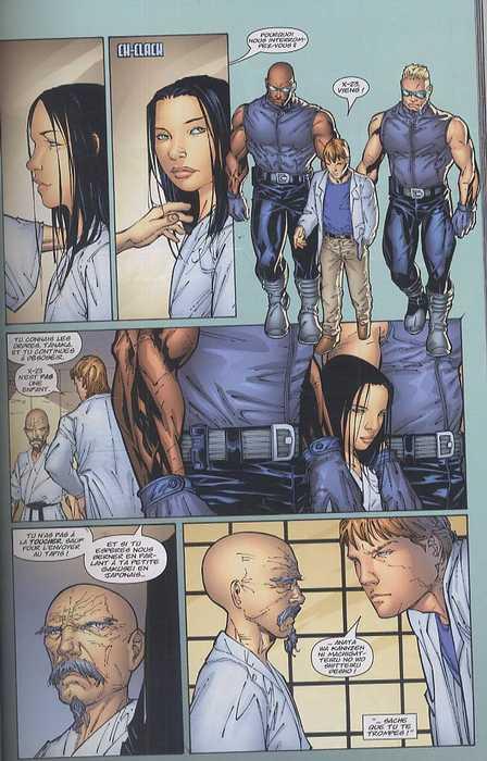 NYX T1 : Gestation (0), comics chez Panini Comics de Yost, Quesada, Kyle, Tan, Teranishi, Middleton, Beaulieu, Haberlin, Sotomayor, Serrand