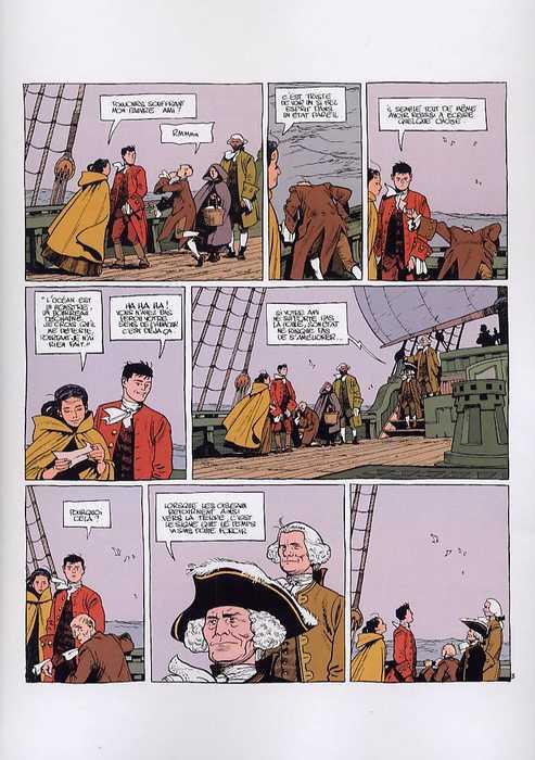 Le marquis d'Anaon T3 : La providence (0), bd chez Dargaud de Vehlmann, Bonhomme, Delf