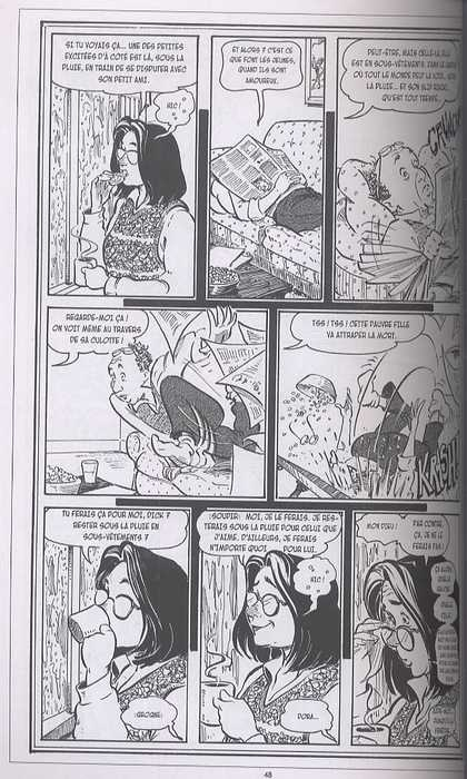 Strangers in paradise – cycle , T3 : La belle vie (0), comics chez Kyméra de Moore