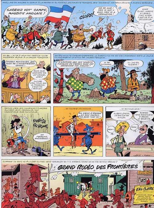 Les Nouvelles aventures de Lucky Luke T1 : La belle province (0), bd chez Lucky Comics de Gerra, Achdé, Ducasse