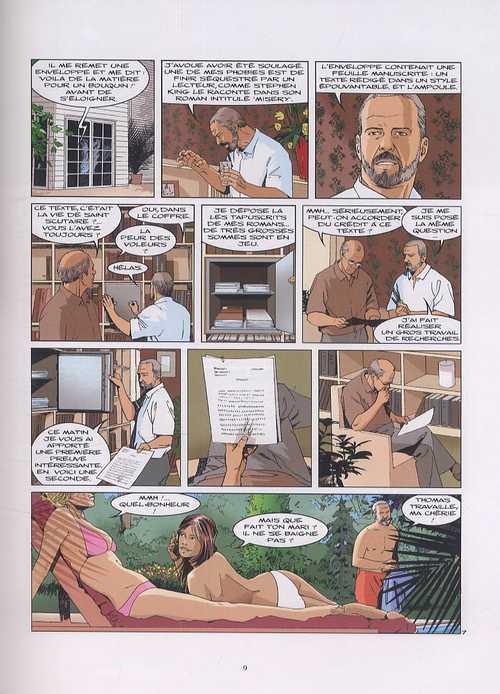 L'eternel T2 : Le sang du martyr (0), bd chez Glénat de Bidot