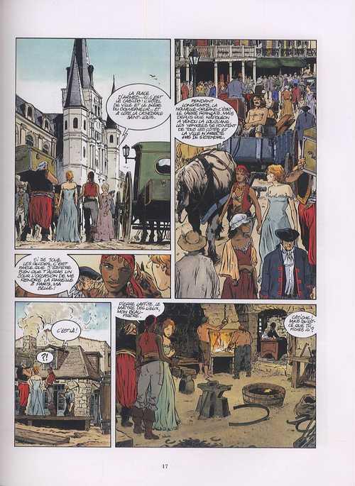 Les pirates de Barataria – cycle 1, T1 : Nouvelle orléans (0), bd chez Glénat de Bourgne, Bonnet, Faucon