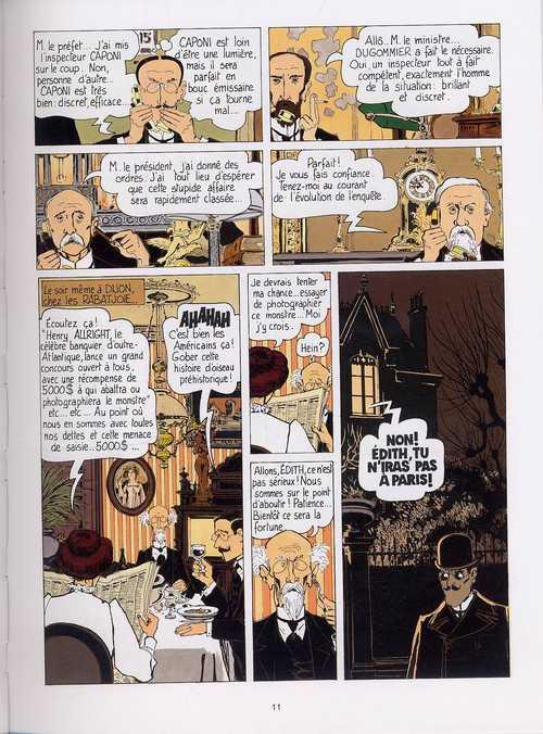 Adèle Blanc-Sec T1 : Adèle et la bête (0), bd chez Magnard de Tardi