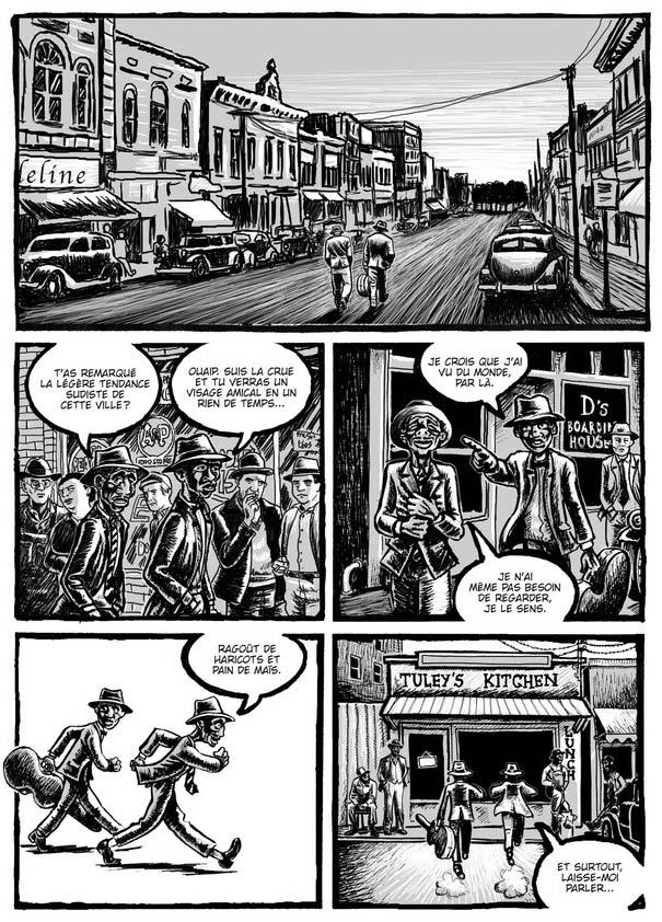 Bluesman, comics chez Akileos de Vollmar, Callejo