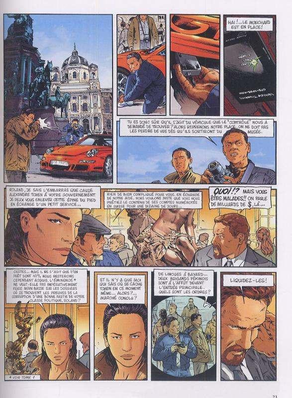 Insiders – Saison 1, T8 : Le prince rouge (0), bd chez Dargaud de Bartoll, Garreta, Charrance