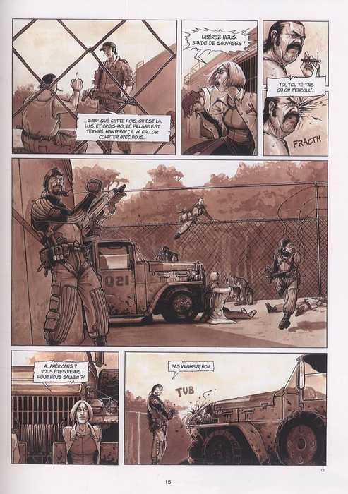 Live wars heroes, bd chez Soleil de David, Bourgier
