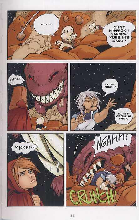 Bone – Edition couleur, T7 : Les cercles fantômes (0), comics chez Delcourt de Smith, Hamaker