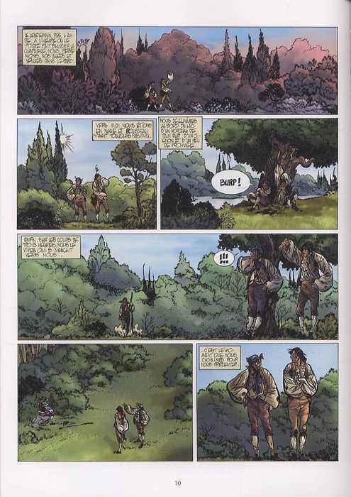 Jean-Jacques, bd chez Delcourt de Richaud, Makyo, Rocco, Checcaglini, Poniard