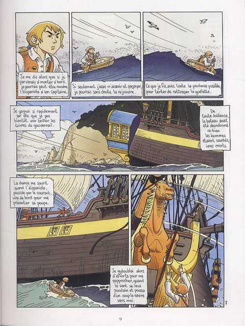 L'île au trésor T3, bd chez Delcourt de Chauvel, Simon, Simon