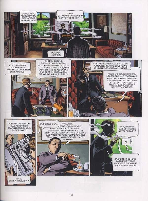 L'histoire secrète T16 : Sion (0), bd chez Delcourt de Pécau, Kordey, O'Grady