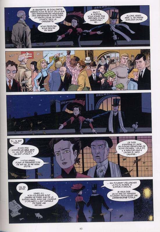 La ligue des gentlemen extraordinaires – Vol.3 - Century, T1 : 1910 (0), comics chez Delcourt de Moore, O'neill, Dimagmaliw