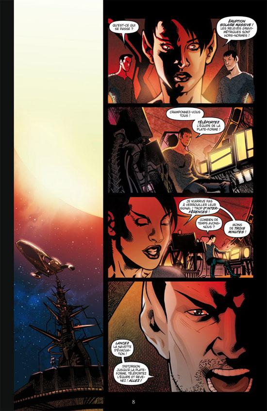 Star Trek T1 : Compte à rebours (0), comics chez Delcourt de Jones, Johnson, Messina, Niro, Maddaleni