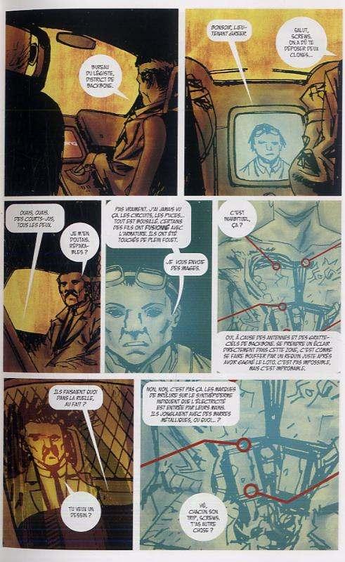 Clones, The surrogates, comics chez Delcourt de Venditti, Weldele