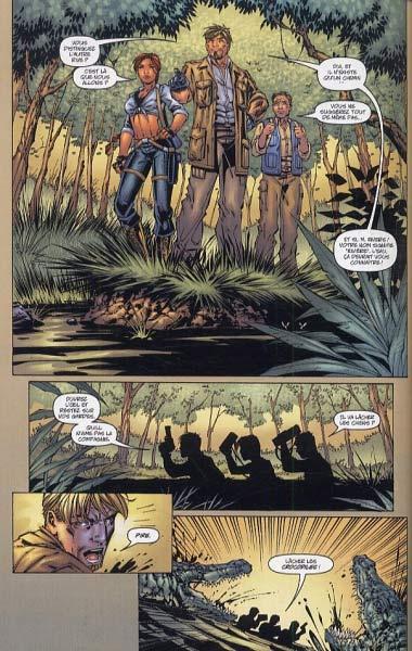 Tomb Raider T2 : Point mort (0), comics chez Delcourt de Jurgens, Park, Smith