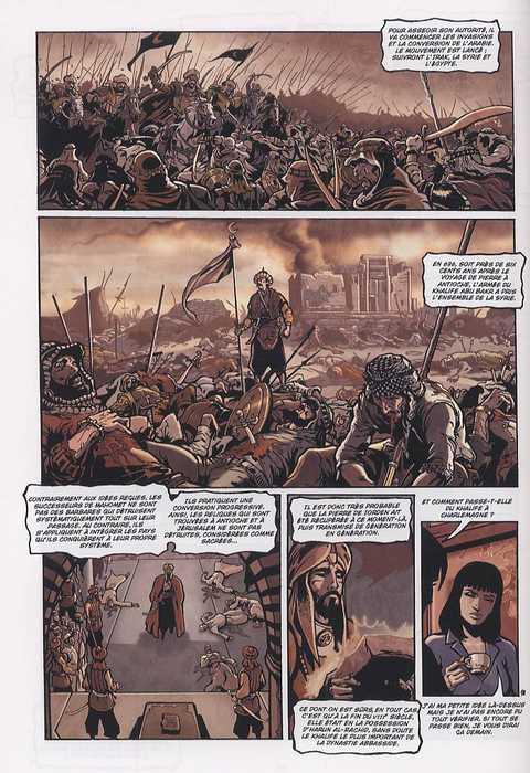 Le testament des siècles T2 : La Pierre de Iorden (0), bd chez Soleil de Loevenbruck, Jarry, Pacurariu, Quaresma, Mouclier