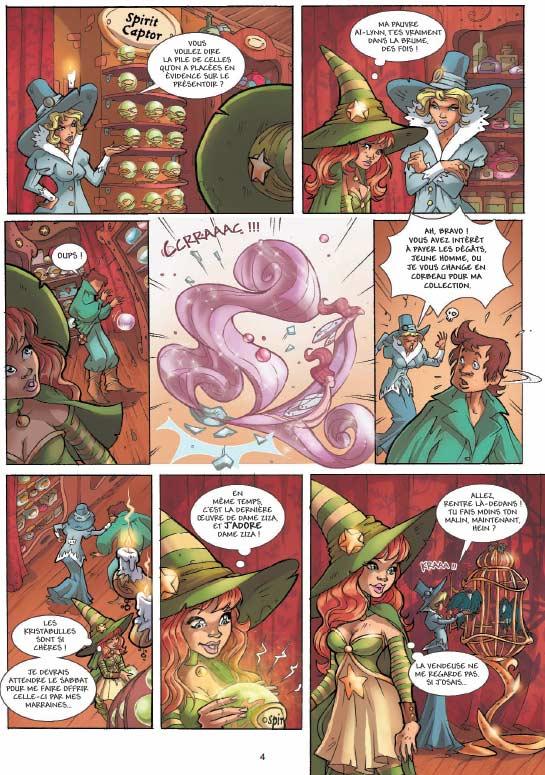 Sweety sorcellery T1 : Le Cœur d'Aï-Lynn (0), bd chez Soleil de Alwett, Kmixe, Kappou, Serrière, Nicolaci, Aurore, Mossa, Vincent, Studio yellowhale