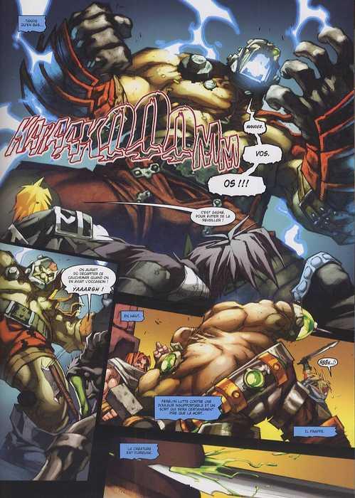World Of Warcraft Porte-Cendres T2 : L'ordre de l'aube d'argent (0), comics chez Soleil de Neilson, Lullabi