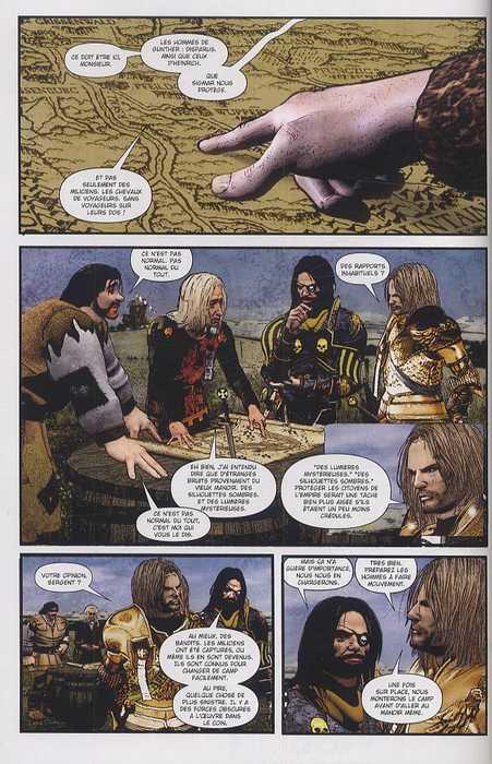 Warhammer T5 : Le sacre de la destruction (0), comics chez Soleil de Gillen, Harris