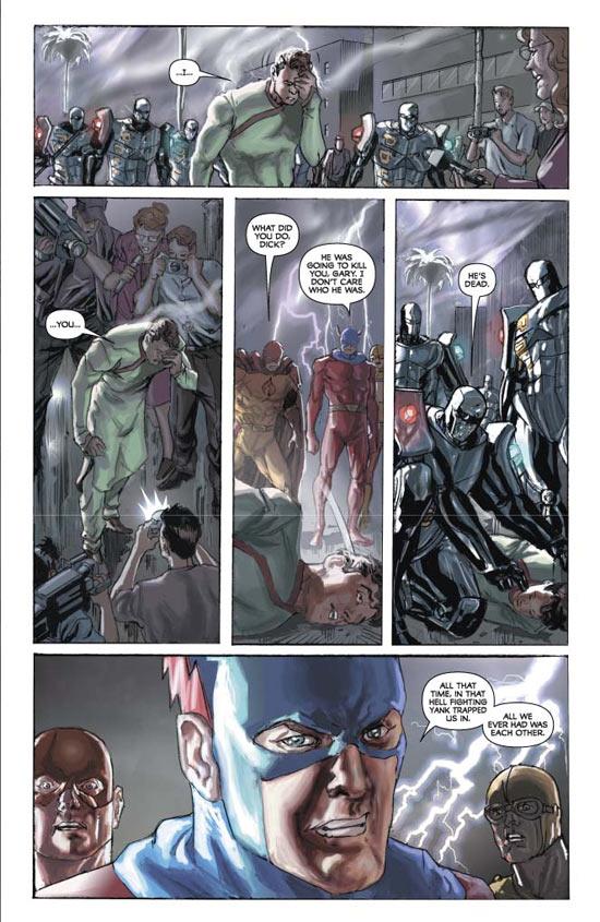 Project Superpowers T2 : Un nouvel esprit (0), comics chez Panini Comics de Krueger, Ross, Paul, Carita