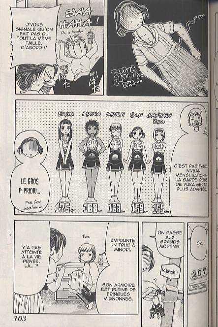 Go ! Tenba Cheerleaders T3, manga chez Bamboo de Sogabe