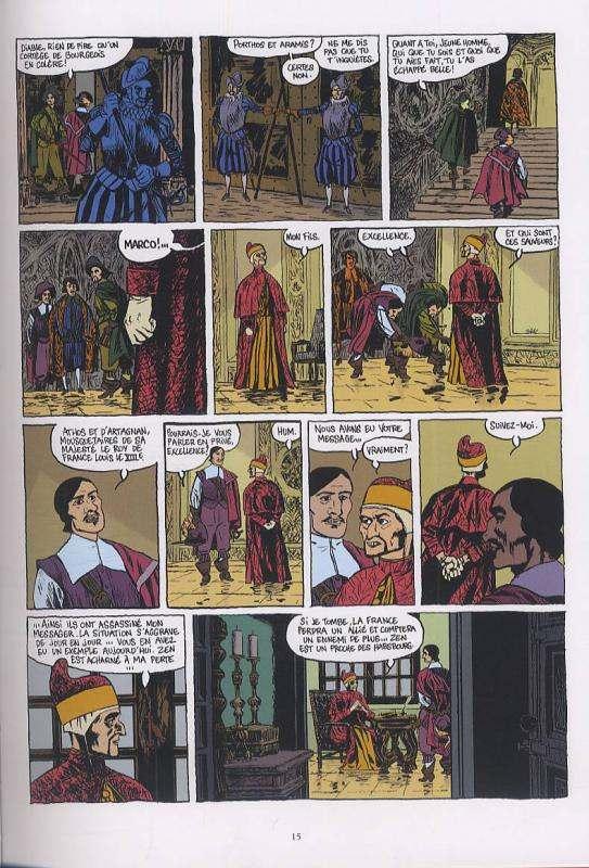 D'artagnan ! T2 : La Sérénissime (0), bd chez Vents d'Ouest de Adam, Micol, Ruby