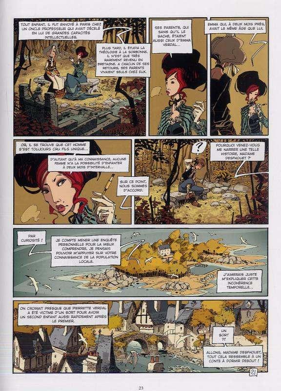 L'ecole Capucine T1 : Venin de village (0), bd chez Vents d'Ouest de Djian, Vincent, Delf