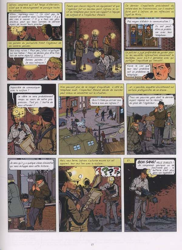 Lefranc T20 : Noël noir (0), bd chez Casterman de Jacquemart, Stevenart, Martin, Régric, Irala marin