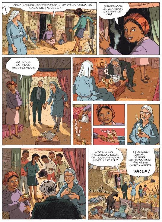 Yalla ! : La vie de Soeur Emmanuelle en BD (0), bd chez Casterman de Cayrol, Domon, Galdric, Flo