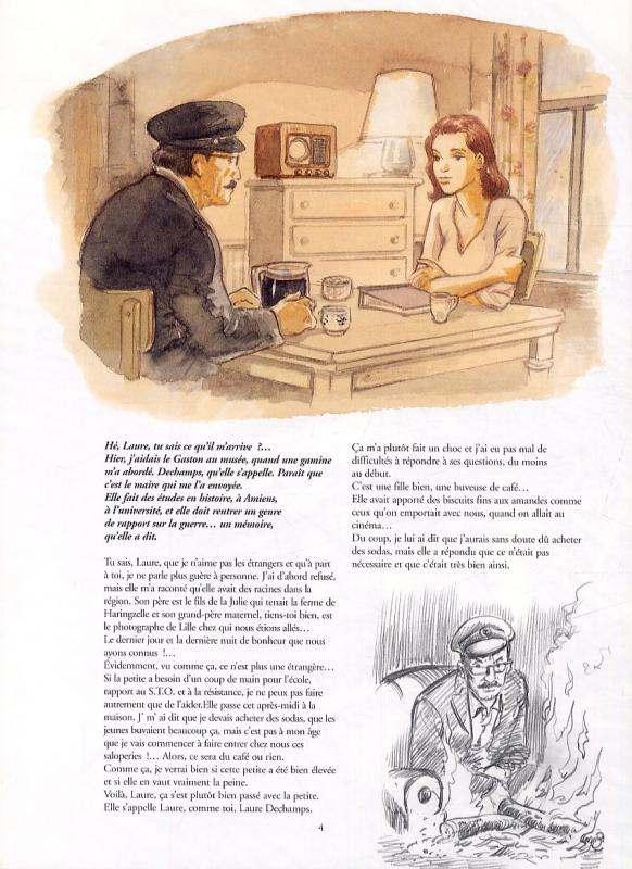 War and dreams T4 : Des fantômes et des hommes (0), bd chez Casterman de Charles, Charles
