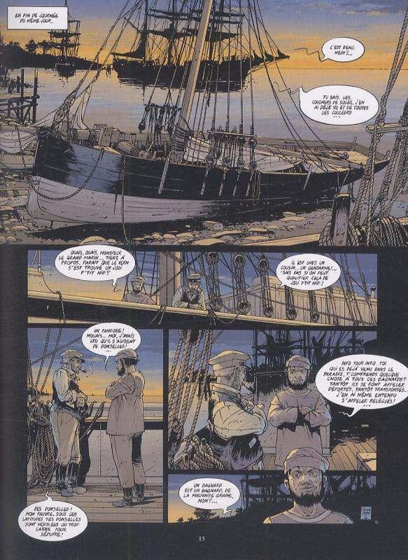 Belem T3 : Le yacht du bagne (0), bd chez Glénat de Delitte