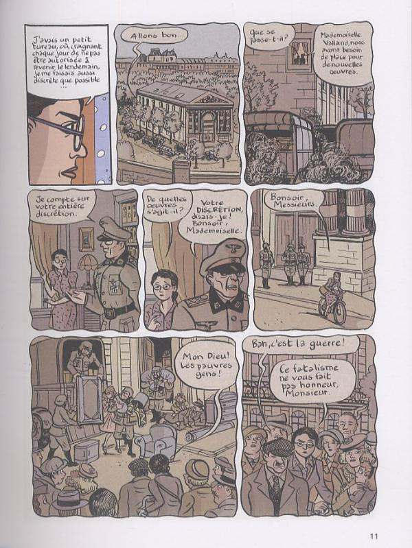 Rose Valland : Capitaine Beaux-Arts (0), bd chez Dupuis de Bouilhac, Polack, Catel, Champeval