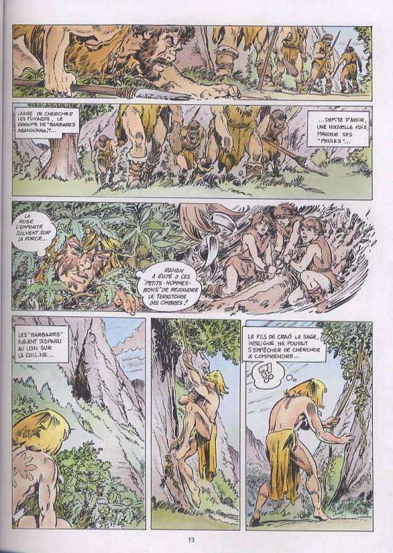 Rahan T10 : La légende de la grotte de Niaux (0), bd chez Lecureux de Lecureux, Cheret, Cheret