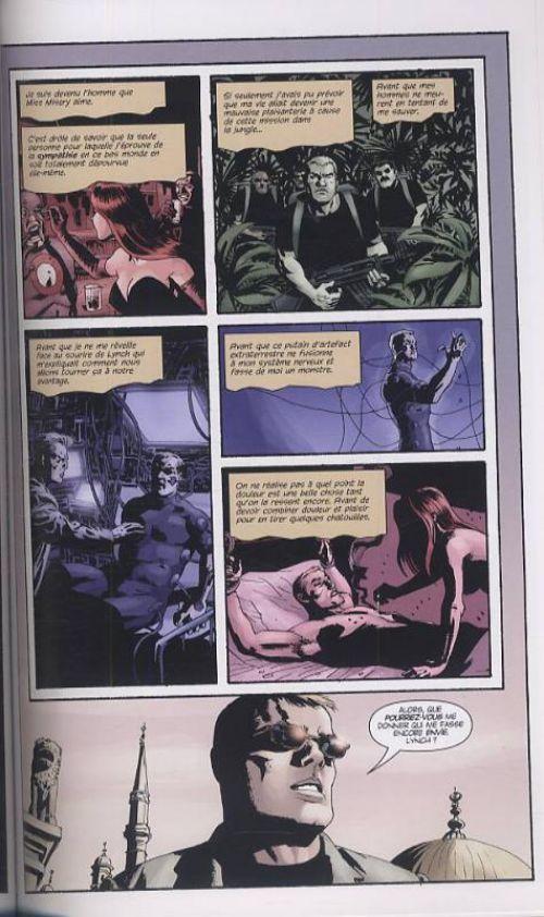 Sleeper T3 : Une ligne brisée (0), comics chez Panini Comics de Brubaker, Phillips, Strachan