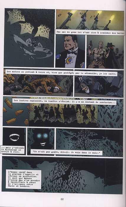 La Brigade Chimérique T1, comics chez L'Atalante de Collin, Serge Lehman, Gess, Bessonneau