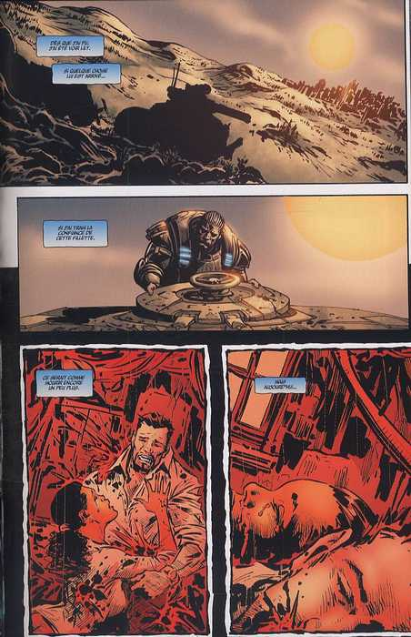 Gears of war T2, comics chez Fusion Comics de Ortega, Sharp, Rench