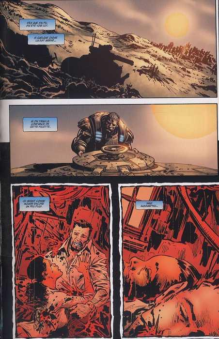 Gears of war T2, comics chez Fusion Comics de Ortega, Sharp, Rench