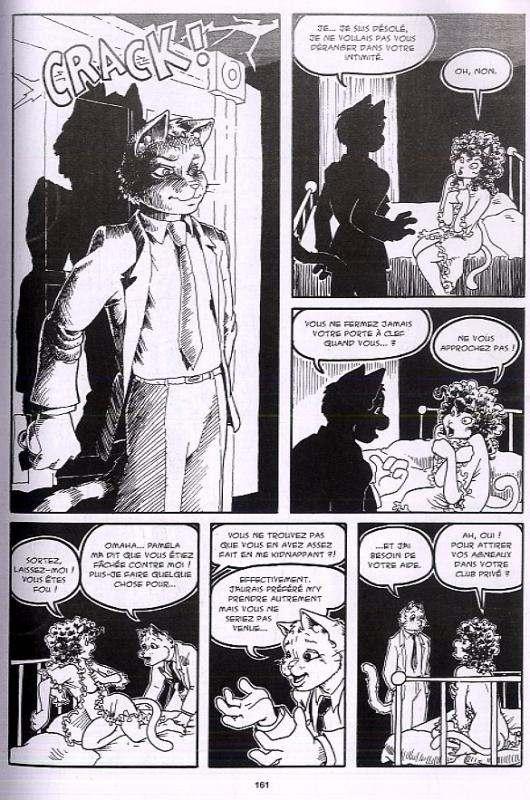 Omaha, Danseuse féline, comics chez Tabou de Worley, Waller