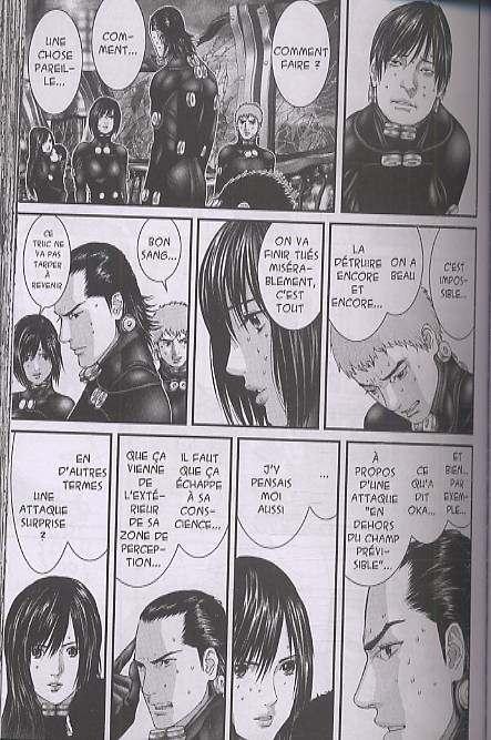 Gantz – 1e edition, T25, manga chez Tonkam de Oku