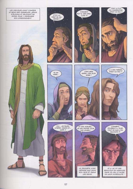 La Bible – cycle Le nouveau testament : L'évangile selon Matthieu (0), bd chez Delcourt de Dufranne, Camus, Talajic, Svorcina