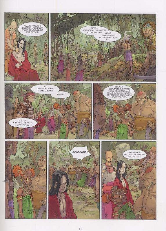 Alim le tanneur T4 : Là où brûlent les regard (0), bd chez Delcourt de Lupano, Augustin, Fogolin
